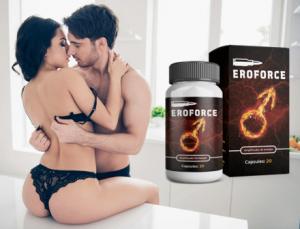 EroForce cápsulas, ingredientes, cómo tomarlo, como funciona, efectos secundarios