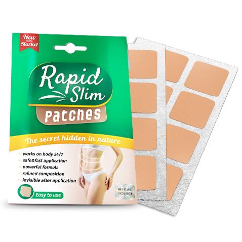 Rapid Slim parche - opiniones, foro, precio, ingredientes, donde comprar, mercadona - España